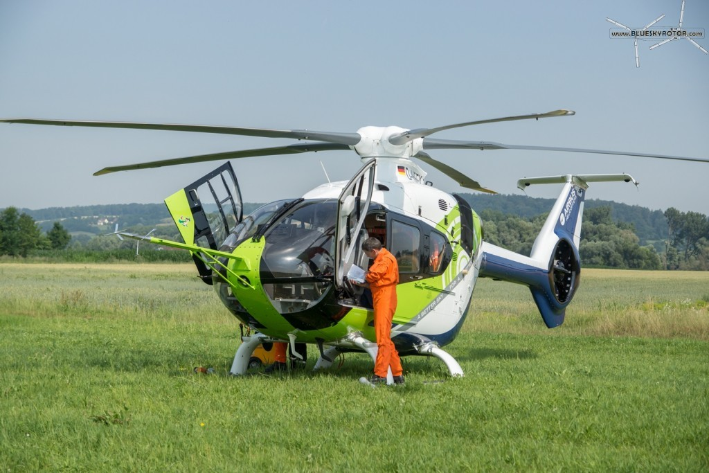 Bluecopter, preparing the flight