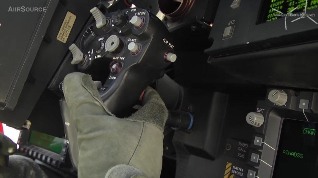 Apache AH-64D grip