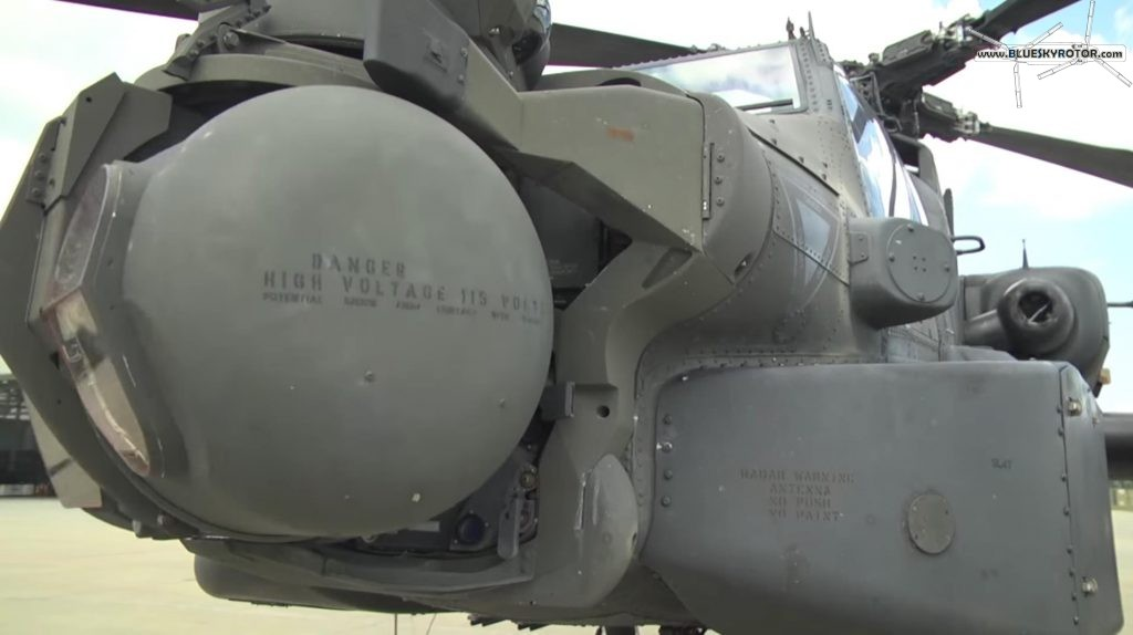 Apache AH-64D Target Acquisition and Designation Sights