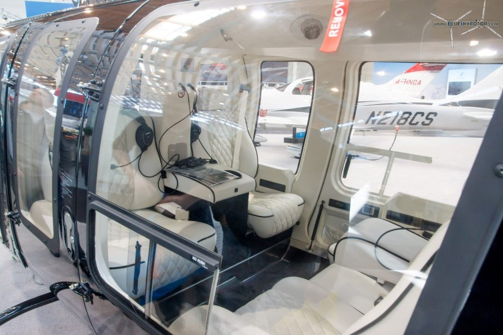 Bell 407 GXP interior