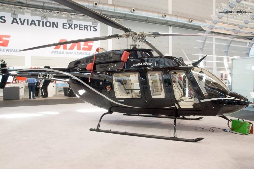 Bell 407 GXP side