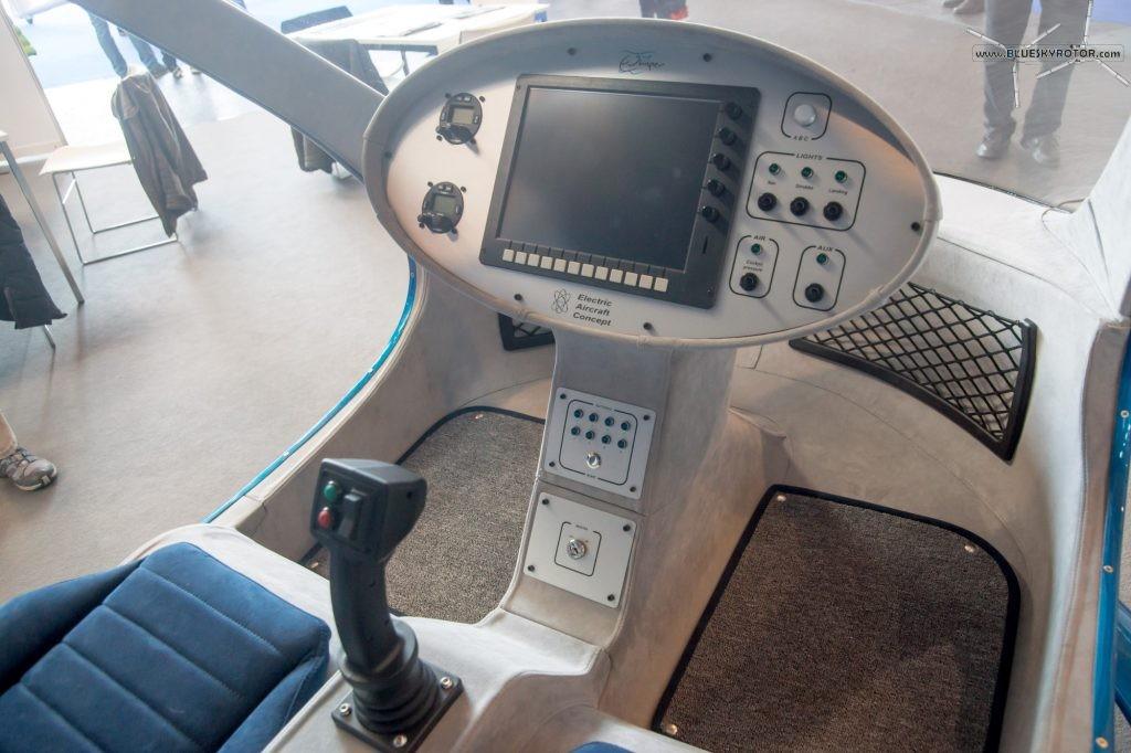 EAC Whisper cockpit
