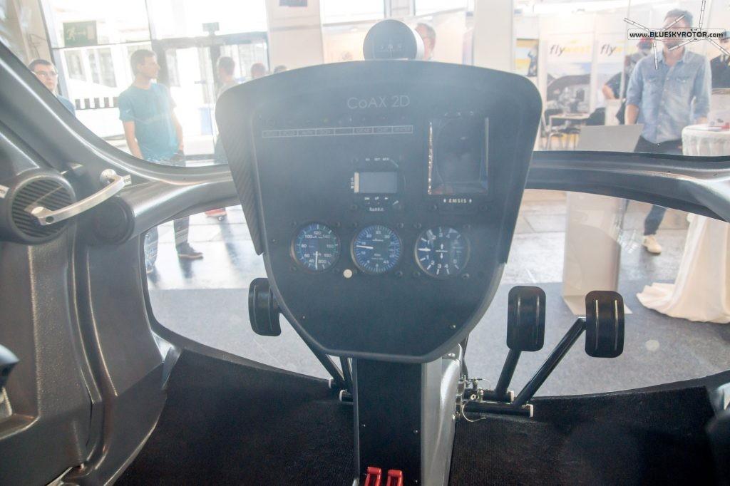 EDM Aerotec Coax 2D instruments