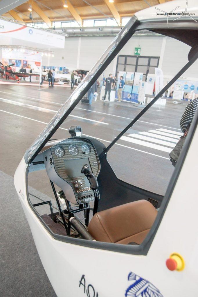 ENAC Volta cockpit