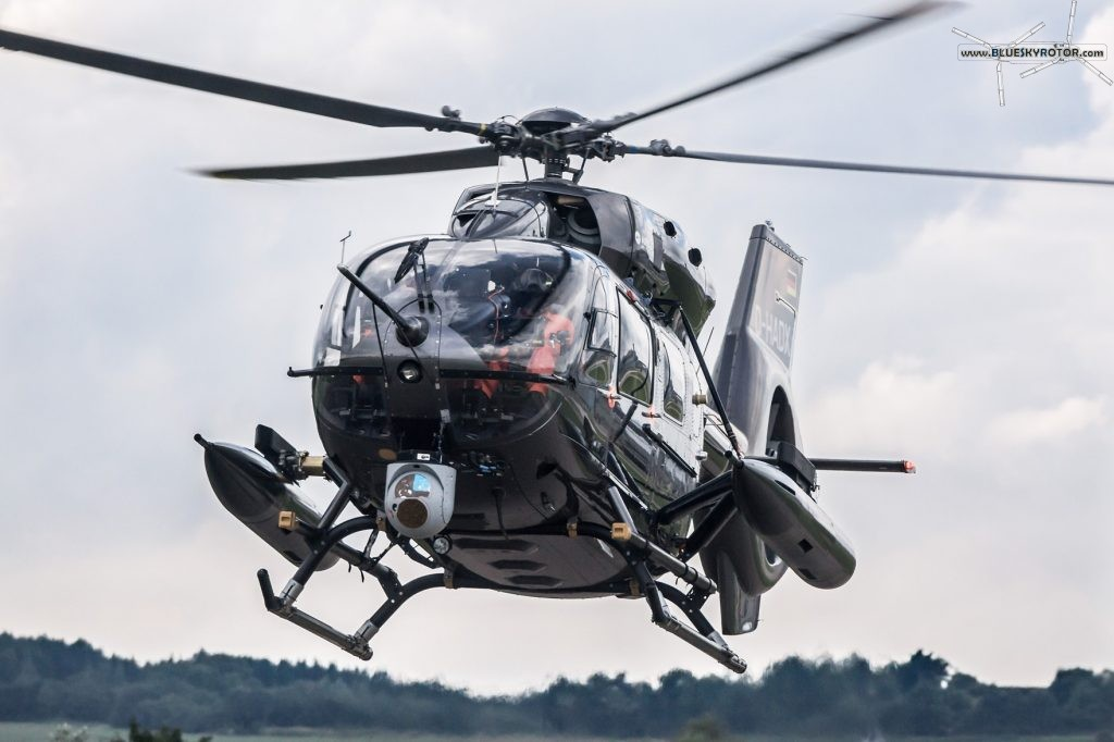 H145M with heavy cannons