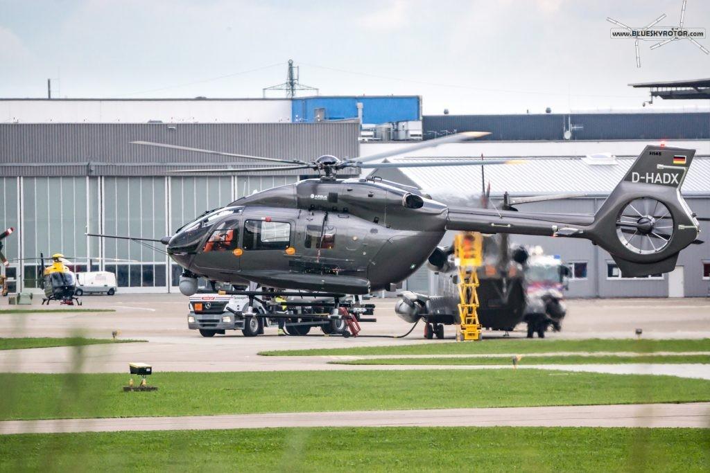 H145M taking off