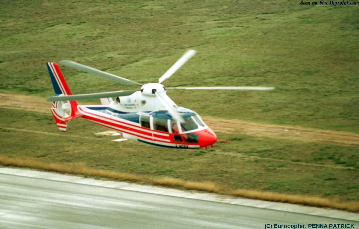 Aerospatiale Dauphin DGV, speed record breaker in 1991