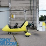 MT-03 autogyro side view
