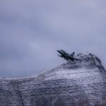 Saab Gripen F flight demo at Axalp 2012
