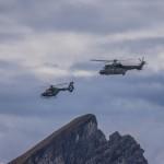 Cougar AS532 UL and EC635 at Axalp 2012