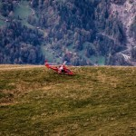 A109 SP of Swiss REGA on rescue duty at Axalp 2012