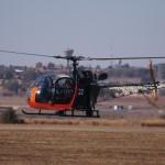 Alouette II landing